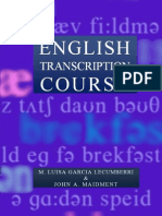 English Transcription Course