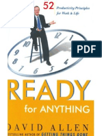 Ready for Anything- 52 Productivity Principles for Work and Life