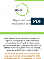 Organizational Replication Work