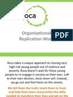 Organizational Replication Work