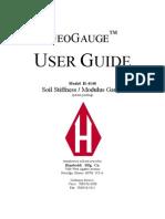 User Guide H 4140 GeoGauge