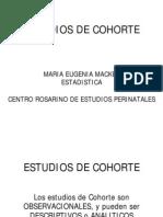 COHORTE ESTUDIOS