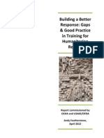 FINAL 4 2012 Building a Better Response - Research Report