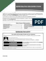 Whirlpool Refrigerator Manual