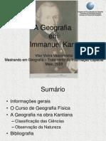 A Geografia em Kant