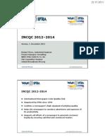 INCQC 2012 Tutorial Verona en 111201