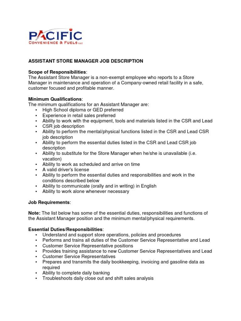 lead customer service job description