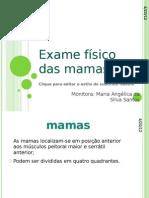 Exame físico das mamas