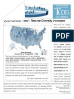 Texoma Diversity Increases