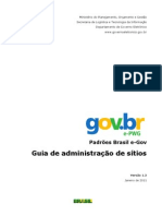 Padrões Brasil e-GOV - Guia de Administração v13