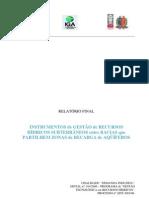 Instrumentos de Gestão de Recursos Hídricos Subterrâneos entre Bacias que Partilhem Zonas de Recarga de Aquíferos