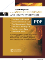 Peter Schiff - Gold Scams Report