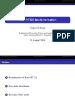 RTOS Implementation