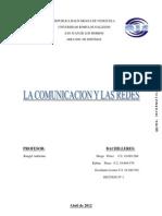Breve Historia de Las Comunicaciones y Las Redes