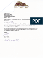 National White Collar Crime Center NW3C Commendation Letter to Rob Holmes 2010-OCT-20