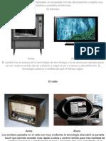 Comparo Tecnologias Del Pasado y El Presente