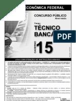 Prova TEC Bancário CEF 2006