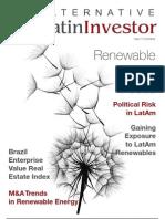 """Alternative Latin Investor"" o Mercados Financieros en Latinoamérica"