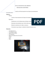 ESCUELA POLITECNICA DEL EJÉRCITO informe