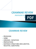 Grammar Review II (Eng 101)