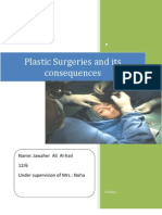 Plastic Surgeries and Its Consequences