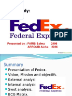 fedex case study on creating value U03a1- ups and fedex case study erica hall 12/03/06 1 analyze ups and fedex using the competitive forces and value the driving force behind creating this.