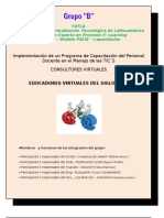 Fase Investigacion Proyecto Educativo Con Tics-grupo b