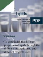 Lipids Chemlab Report