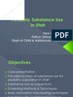 Substance Use in Children & Adolescents