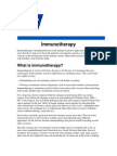 Bcg as Immunotheraphy Taken American Cancer Society