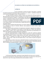 modelos atômicos e distribuição eletrônica
