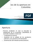 Impactos Espaciales de La Apertura en Colombia1