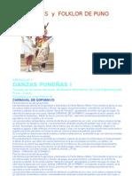 Danzas y Folklor de Puno