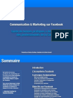 Communication Et Marketing Facebook Pour les Professionnels De La Culture