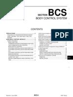 Control de Carroceria TiidaBCS