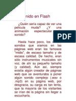 Sonidos en Flash