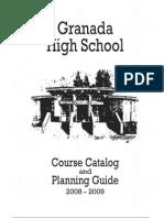 Granada Course Catolog 08-09 Web