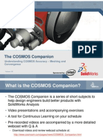 The COSMOS Companion, Understanding COSMOS Accuracy - Meshing and Convergence