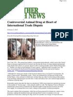 US Selling Drug Laced Pork