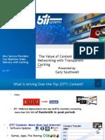 BTI Systems - Final TC Webinar Deck