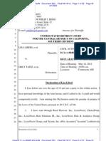 Liberi v Taitz Liberi Declaration_opt Doc 503