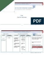 Planificación Anual de Ciencias Naturales (Reparado)