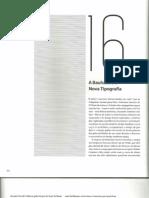 A Bauhaus e a Nova Tipografia