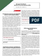 European Tax Report 10 2011
