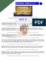 Puntos Sobresalientes de Biblia - Daniel 10 a 12