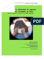 25_01_12_informe Sobre La Public Id Ad de Juguetes Navidades 2011