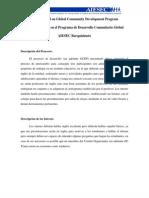 Proyecto Basado en GCDP