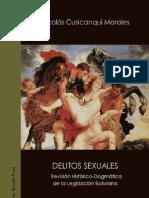 DELITOS SEXUALES - Revisión Histórico Dogmática de la legislación boliviana
