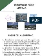 Algoritomo de Flujo Maximo