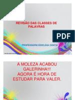 REVISÃO - SUBST. ART. ADJ. PRON